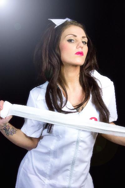 Krankenschwester Bruste Zierlicher Orgasmus